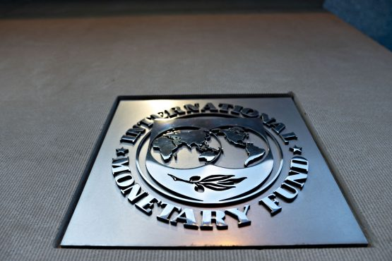 The IMF says the country's resilience should 'see it through' for a while, subject to policies 'being recalibrated'. Image: Andrew Harrer, Bloomberg