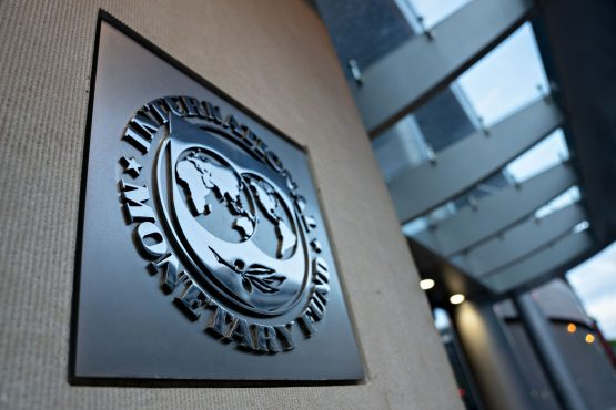 SA took out a $4.3bn (R65bn) loan from the IMF in 2020, its first yet from the organisation at a sovereign level. Image: Andrew Harrer, Bloomberg