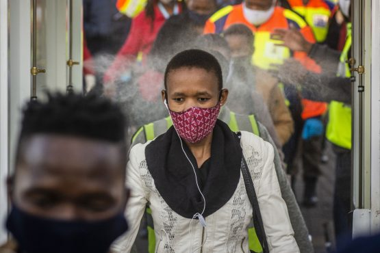 President Cyril Ramaphosa said infections are mostly concentrated in a few metropolitan municipalities and districts in the country. Image: Waldo Swiegers, Bloomberg