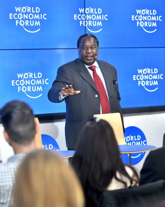 Finance minister Tito Mboweni to speak at the Africa edition of the World Economic Forum, which kicks off on Wednesday in Cape Town. Image: Moneyweb
