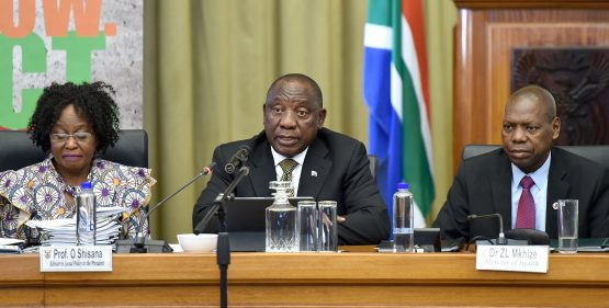With Ramaphosa having made some brave choices, the quarterly meetings he chairs should be lively affairs. Image: Kopano Tlape, GCIS