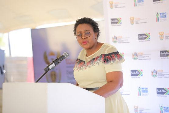 Tourism Minister Mmamoloko Kubayi-Ngubane has taken flak for not fighting more fiercely for the reopening of the embattled sector, but says it is resilient and will recover. Image: Supplied