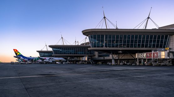 OR Tambo International Airport in Joburg, Africa's busiest air hub, is one of nine airports Acsa operates in South Africa. Image: Supplied