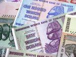 Zimbabwe artist turns worthless old Mugabe-era banknotes into paintings