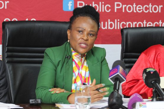 The courts are yet to decide whether Public Protector Busisiwe Mkhwebane's report into the alleged rogue unit at Sars should be set aside. Until then, she has been prohibited from enforcing the remedial action contained in the report. Picture: Moneyweb
