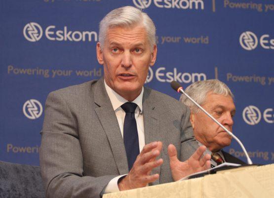 Eskom CEO Andre de Ruyter. Image: Moneyweb