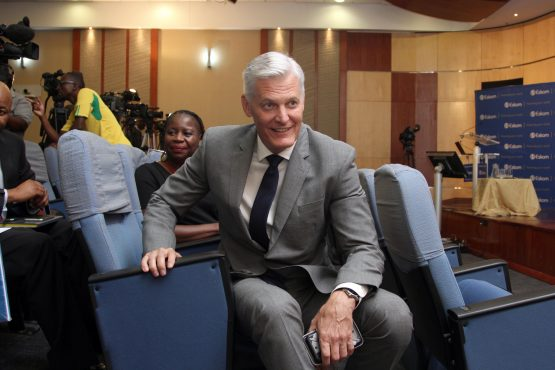 Something to smile about: Andre de Ruyter, Eskom's CEO. Image: Moneyweb