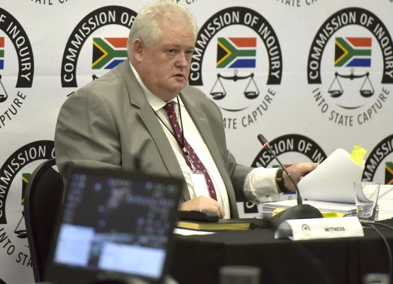 Justice Zondo said Agrizzi's comments were deeply offensive and unacceptable, but it would not deter him from considering his evidence. Picture: Neil McCartney, Citizen