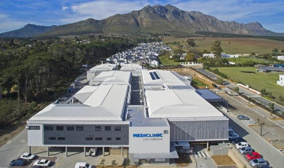 The Mediclinic hospital in Stellenbosch. Image: Supplied