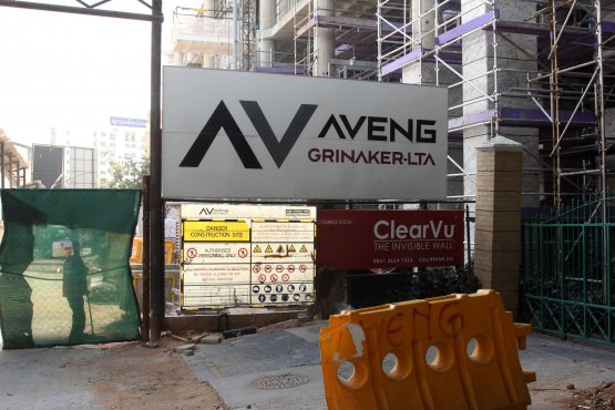 Aveng, which has around a third of its operations in South Africa, has been selling non-core businesses to reduce its debts. Picture: Moneyweb
