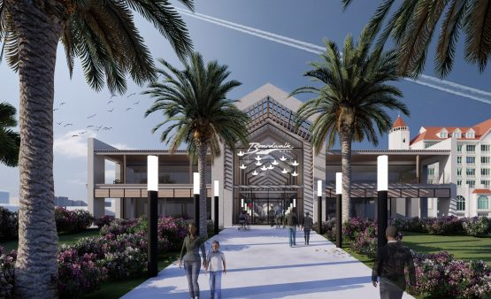 An artist's impression of one of the entrances of the new Boardwalk Mall under development in Nelson Mandela Bay. Image: Supplied