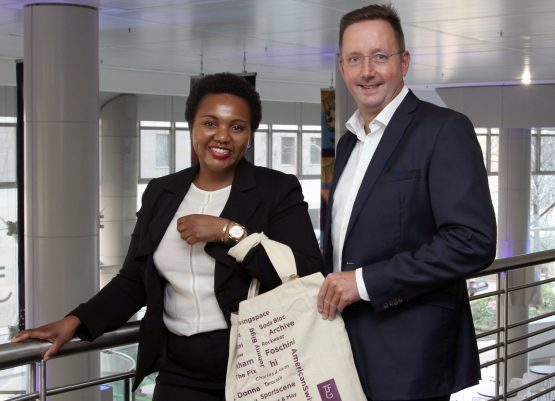 The Foschini Group's CFO Bongiwe Ntuli and CEO Anthony Thunström are upbeat about future prospects both locally and overseas. Picture: Moneyweb