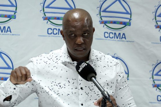 CCMA director Cameron Sello Morajane says its expanded mandate, together with increasing job losses, is putting a strain on the dispute resolution body. Image: Moneyweb