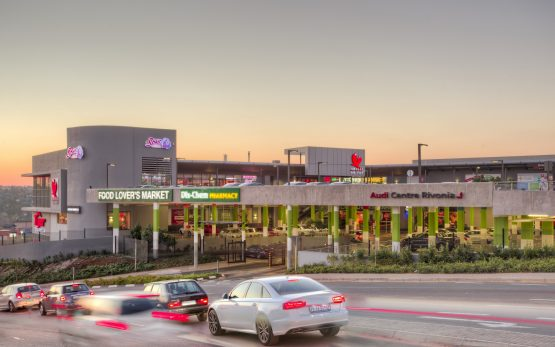 Dipula Income Fund's Chilli on Top retail centre in Sunninghill, Sandton. Image: Supplied