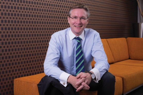 Chris Hamilton, CEO of BankservAfrica