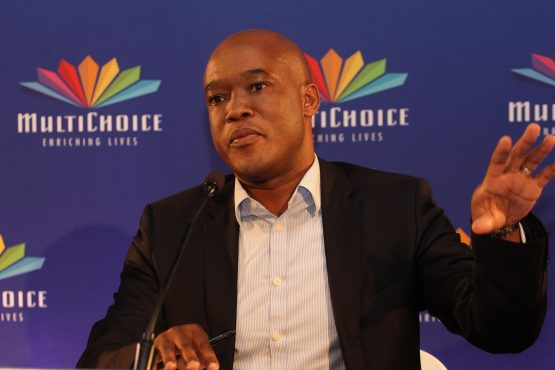 Calvo Mawela, CEO Multichoice South Africa to announce successful bidder for black owned news channel. Picture: Moneyweb