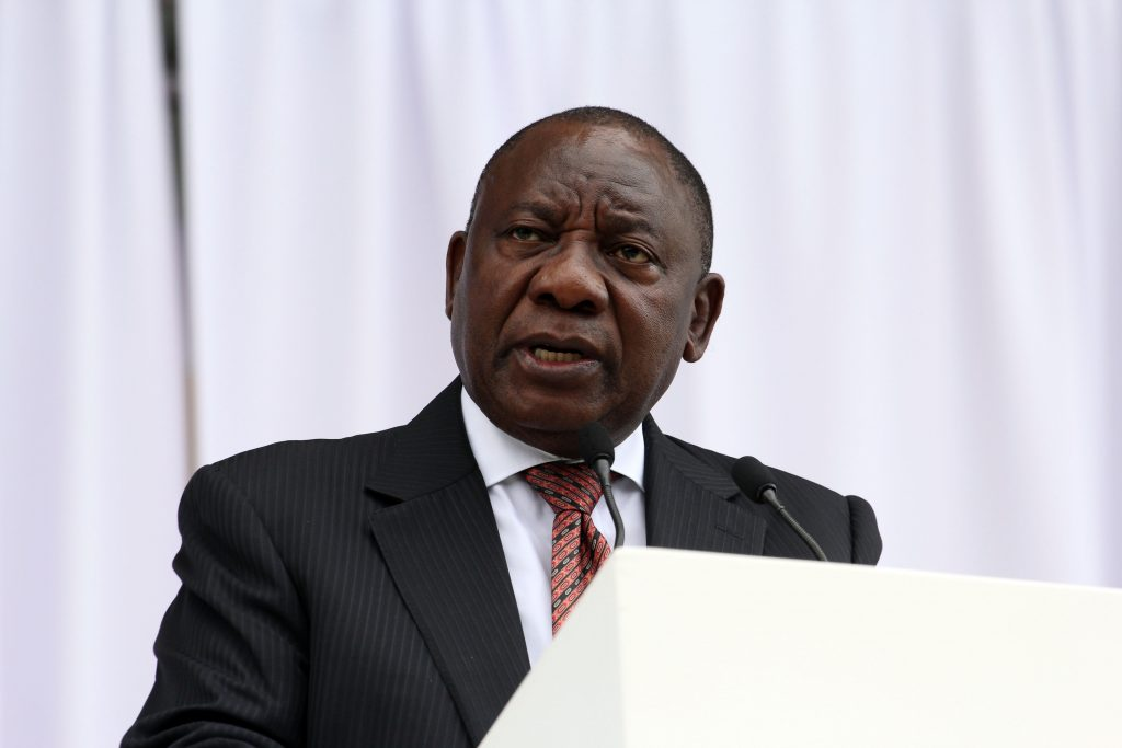 Stop hoarding Covid vaccines, Ramaphosa tells rich countries