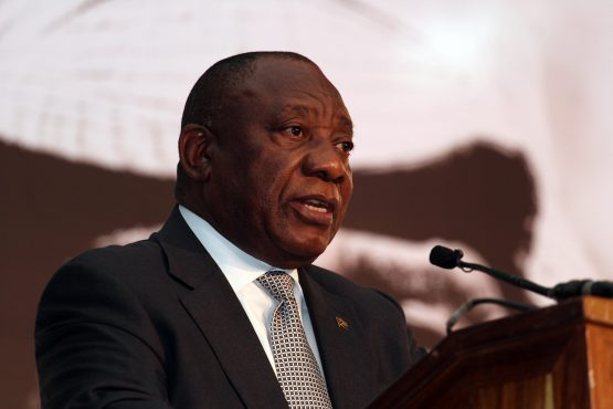 President Cyril Ramaphosa issued a statement saying he will address developments surrounding finance minister Nhlanhla Nene. Picture: Moneyweb