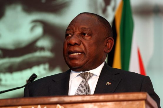 Speaking on day one of the Jobs Summit, Ramaphosa said job creation is part of a virtuous cycle. Picture: Moneyweb
