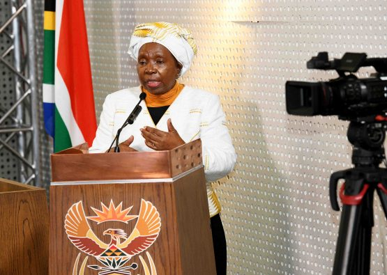 Dlamini-Zuma speculates that poorer people who share cigarettes will be more likely to pass the virus to each other. Batsa believes this is wrong in both law and in science. Image: Jairus Mmutle, GCIS