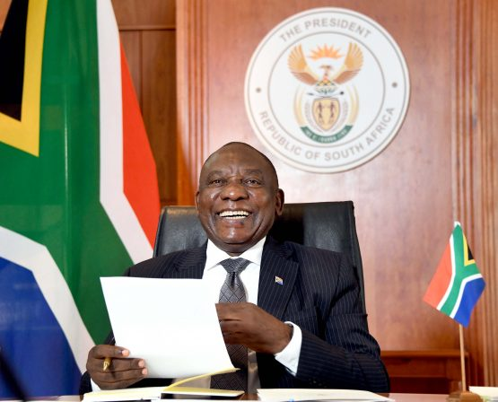 President Cyril Ramaphosa delivered some welcome news in his latest 'national family meeting'. Image: Elmond Jiyane, GCIS