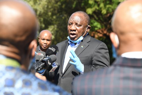 China President Pledges Help to South Africa in Coronavirus Fight