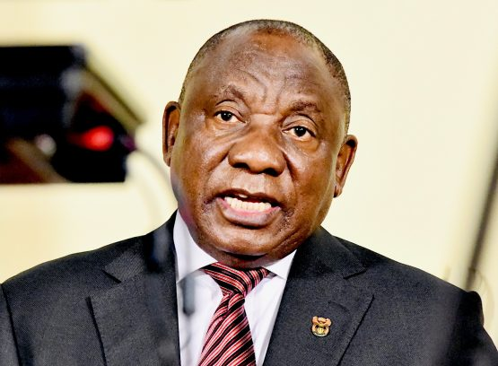 President Cyril Ramaphosa unveiled a special Covid-19 grant for those who are unemployed and don't qualify for a Sassa grant or UIF. Image: Siyabulela Duda, GCIS