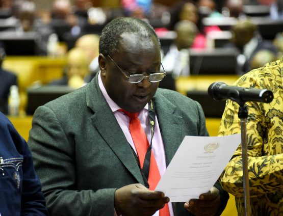 Finance Minister Tito Mboweni's MTBPS may have been a signalling for a very tough budget come February 2020. Image: Jairus Mmutle, GCIS