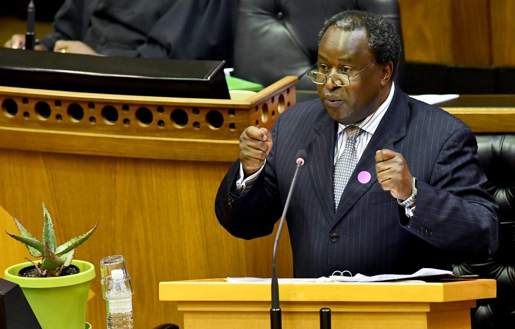 Mini budget: Mboweni makes it stretch