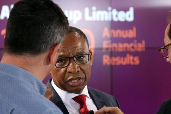 Absa CEO Daniel Mminele says he has 'a full mandate' to review and adjust the group's strategy. Image: Moneyweb