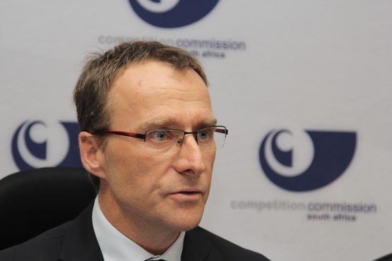 James Hodge, chief economist at the Competition Commission. Picture: Moneyweb