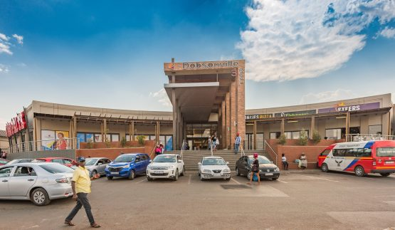 Dobsonville Mall in Soweto, one of the many township and rural shopping centres in Vukile's portfolio. Image: Supplied