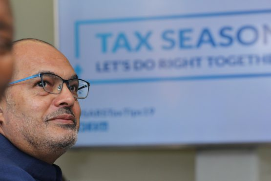 It's good that Sars Commissioner Edward Kieswetter is energetic and filled with moral purpose, because he has quite a job on his hands. Image: Moneyweb