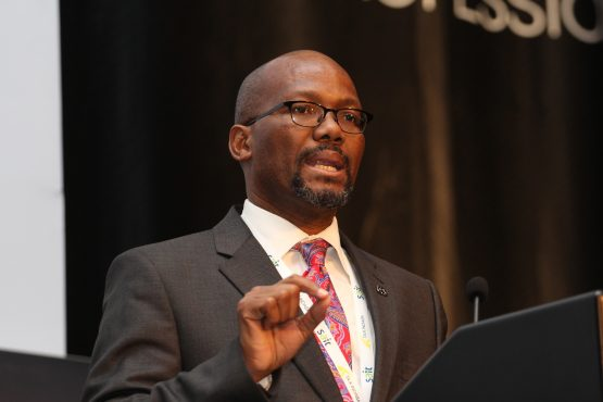 Executive chairperson of DNA Economics, part-time commissioner of the National Planning Commission and former PIC CEO, Elias Masilela. Picture: Moneyweb