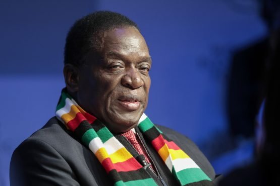 Zimbabwean President Emmerson Mnangagwa working with foreign investment to recover economy. Picture:Bloomberg