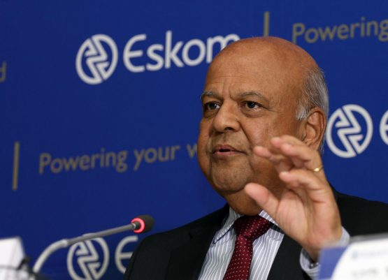 Public enterprises minister Pravin Gordhan, confirmes that National Treasury approved funding for debt laden Eskom. Picture: Moneyweb