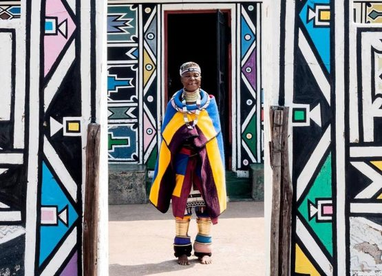 Dr Esther Mahlangu is one of South Africa's celebrated 'blue chip' artists. Picture: https://www.facebook.com/esthermahlanguart/