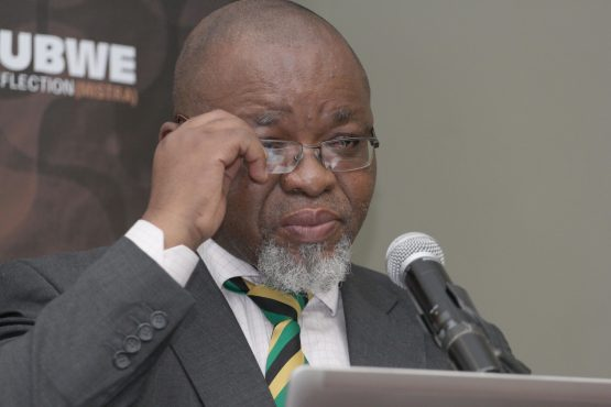 'We need to speedily work to entrench regulatory and policy certainty,' energy minister Gwede Mantashe said. Picture: Moneyweb