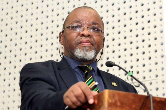 Gwede Mantashe, Minister of Mineral Resources. Picture: Moneyweb