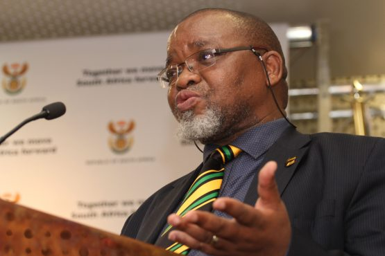Mines minister Gwede Mantashe. Picture:  Moneyweb
