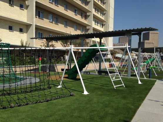 Play area.