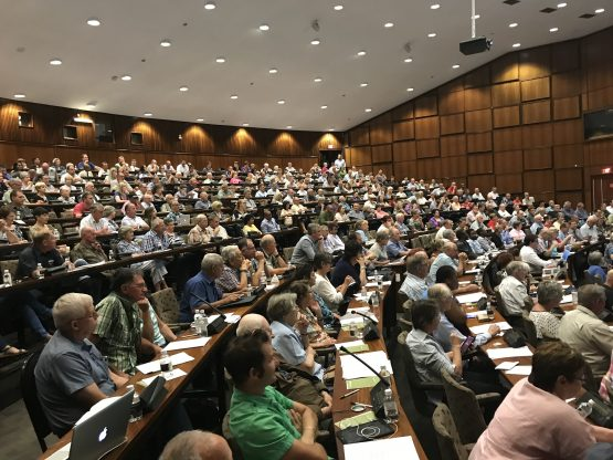 More than 500 former Sharemax investors and Nova debenture holders attended the debenture meeting in Pretoria on Friday. Picture: Moneyweb