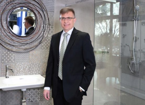 Italtile's Jan Potgieter. The company saw double-digit sales growth following the relaxation of Covid-19 lockdown restrictions in June. Image: Supplied