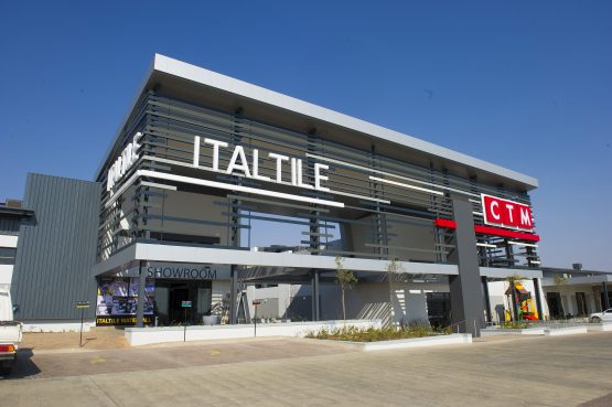 Italtile's new generation retail store in Waterfall, Gauteng, which includes a 'millennial' CTM. Picture: Supplied