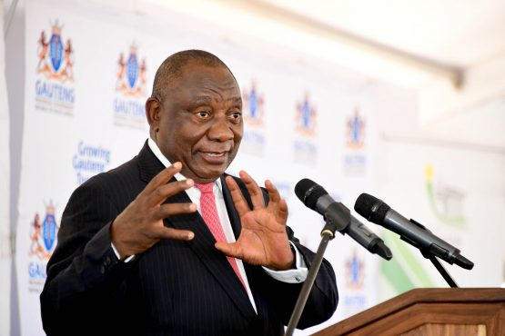 Yet another affirmation of growing investor confidence in South Africa – Cyril Ramaphosa describing the launch of the Tshwane Automotive SEZ on Tuesday. Image: Elmond Jiyane, GCIS