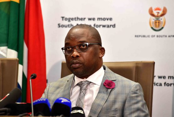 SA's justice minister Michael Masutha had to decide whether to have Chang extradited to Mozambique or the US following requests from both countries. Picture: GCIS