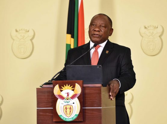 President Cyril Ramaphosa is appalled at 'what is no less than a war' being waged against women and children in South Africa. Image: Jairus Mmutle, GCIS
