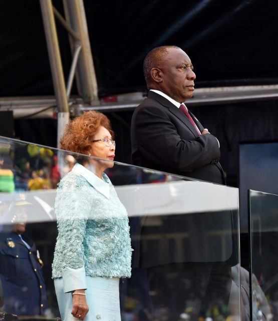 President Cyril Ramaphosa was inaugurated on Saturday. Picture: Supplied