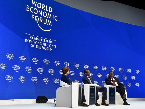 Hot topics in icy Davos at Wef 2019. Picture: Jairus Mmutle, GCIS