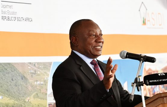 President Cyril Ramaphosa's plans to announce more measures to support Eskom after meeting with the company's board aided the currency. Picture: Jairus Mmutle, GCIS